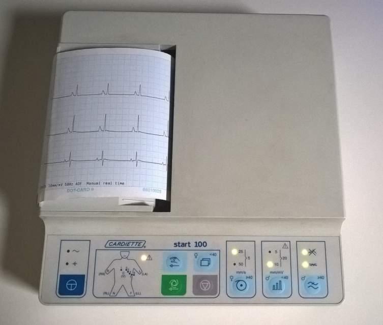 Elettrocardiografo Cardioline Start 100 usato