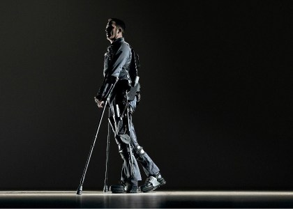 Ekso Bionics Exoskeleton Walking