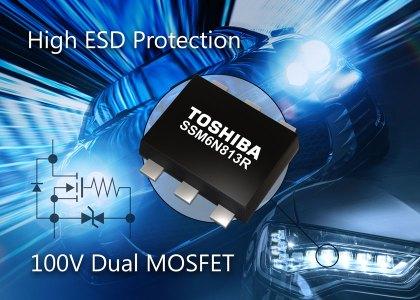 7135_DualMosfet-420x300 MOSFET di piccole dimensioni per automotive con un elevato grado di protezione dalle ESD