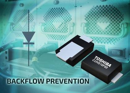 CUHS_Toshiba-420x300 Toshiba sviluppa un diodo Schottky a bassa corrente inversa con prestazioni termiche migliorate