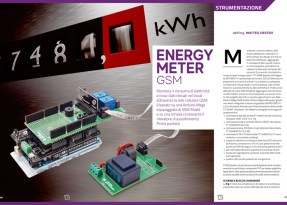 "Rivista #240: ""Energy Meter GSM"""
