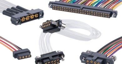 Harwin presenta nuovi cablaggi per i connettori Datamate