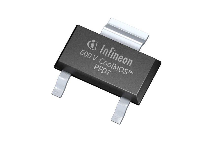 Densità di potenza da record per la nuova serie di CoolMOS da 600V PFD7