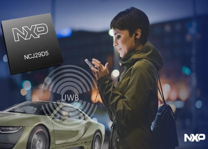 NXP annuncia un nuovo IC Ultra-Wideband in grado di trasformare gli smartphone in chiavi per auto