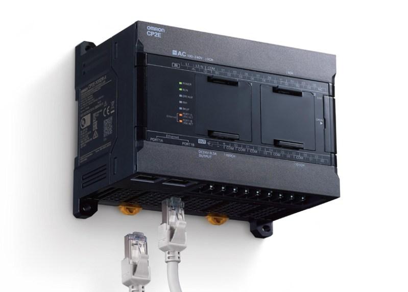 Il controllore serie CP2E di OMRON porta le funzionalità IoT nelle applicazioni compatte