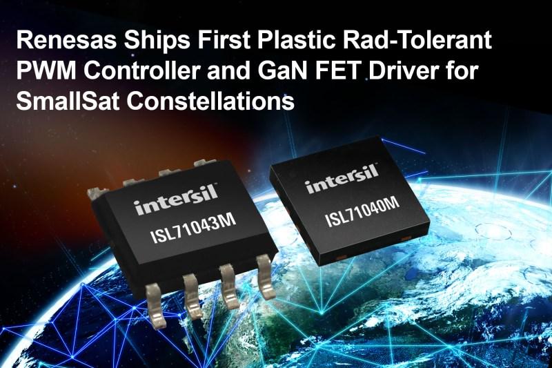 """GaN FET resistenti alle radiazioni in package plastico per applicazioni spaziali """"Smallsat"""""""