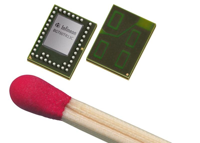 Gesture control grazie alla tecnologia radar a 60 GHz di Infineon