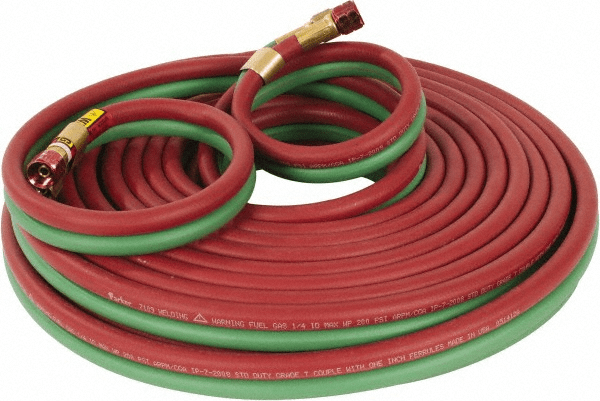 oxygen and propan hose