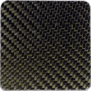 Twill weave carbon fiber flat sheet