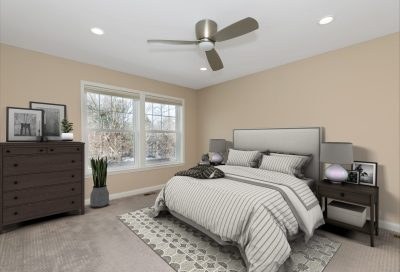 Virtual staging Master Bedroom