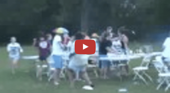 Crazy-Messy Youth Group Food Fight