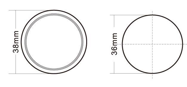 Switch elevator push button Round Shape 1.5-3 mm