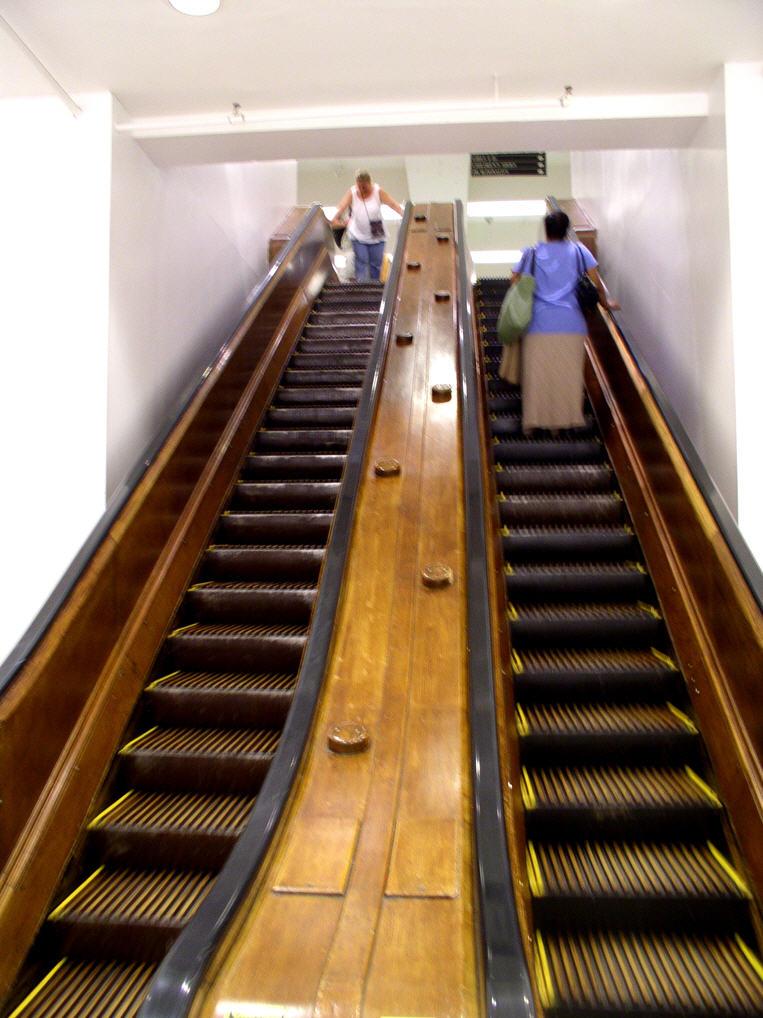 Elevatorbob S Elevator Pictures Macy S Wooden Escalators