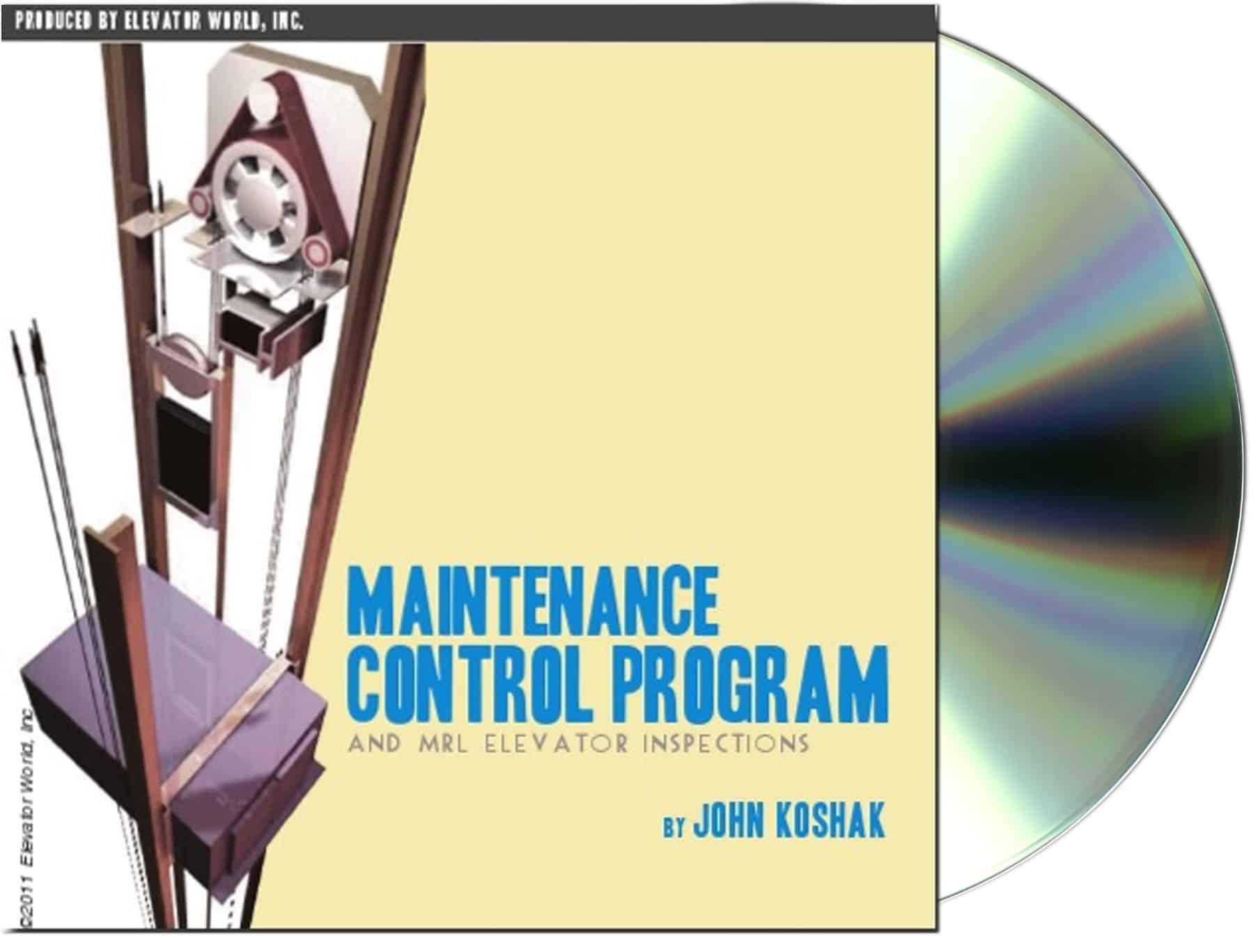 Maintenance Control Program and MRL Elevator Inspections Presentation