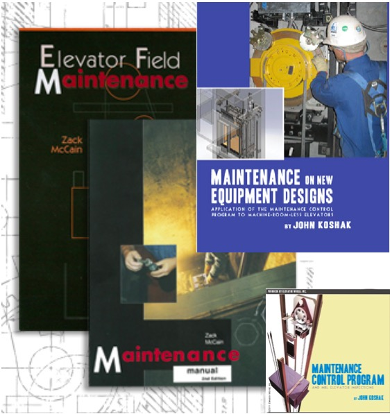 Elevator Maintenance Manual & Handbook Set