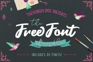 free font bunble