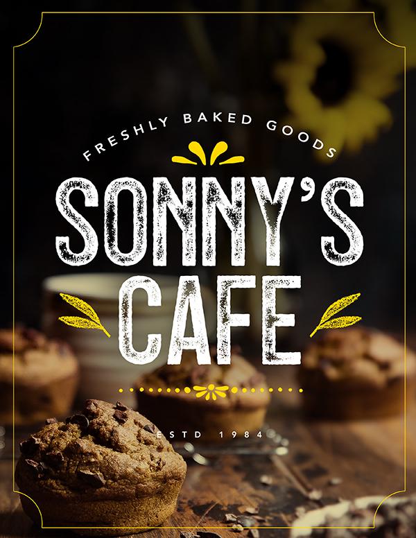 Sonny's Cafe Ad Tutorial & Freebie
