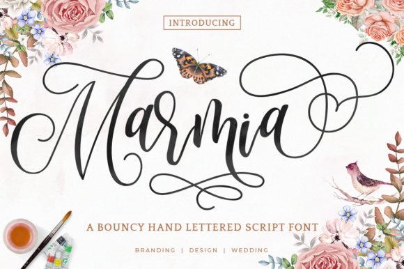 Marimia Script FontMarimia Script Font