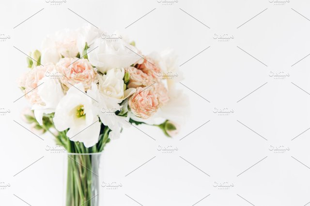 Light Bright Bouquet Isolated