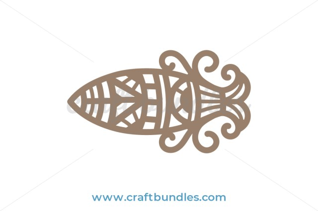Misty Fish SVG Cut File