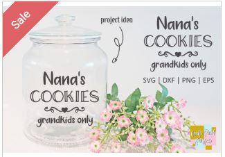 Nana's Cookies, Grandkids Only