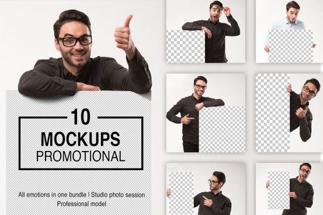 Mockups Promotion Photo Bundle
