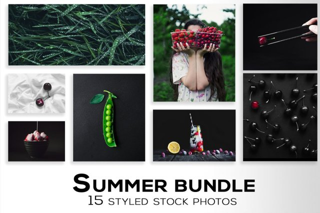 Summer styled stock photo bundle