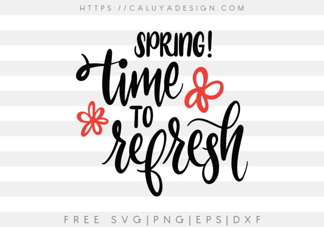 Spring, Time to Refresh
