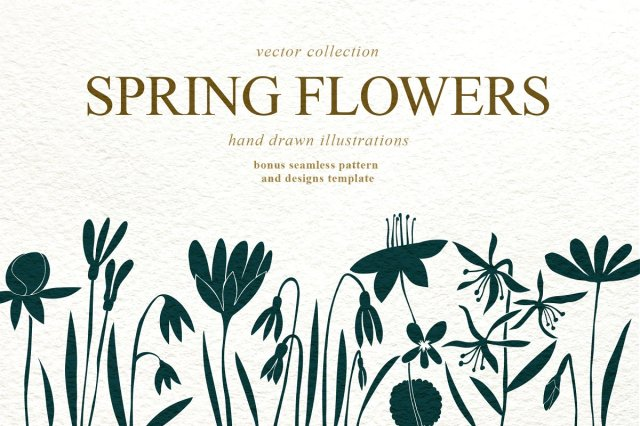 Spring Flowers Collection