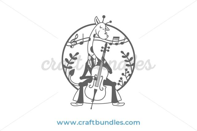 cello giraffe