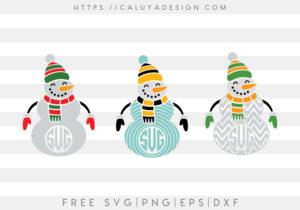 snowman mono 2