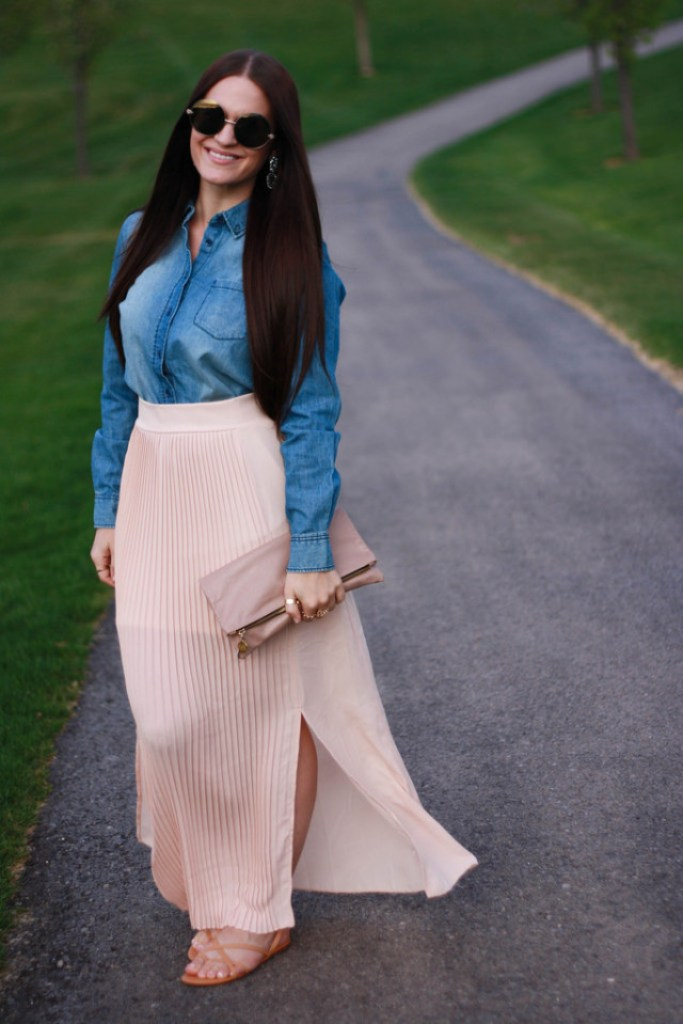 Denim Chambray Outfit