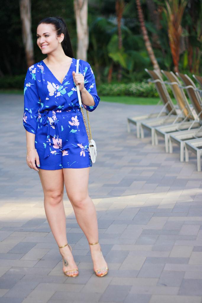 Blue Yumi Kim Romper