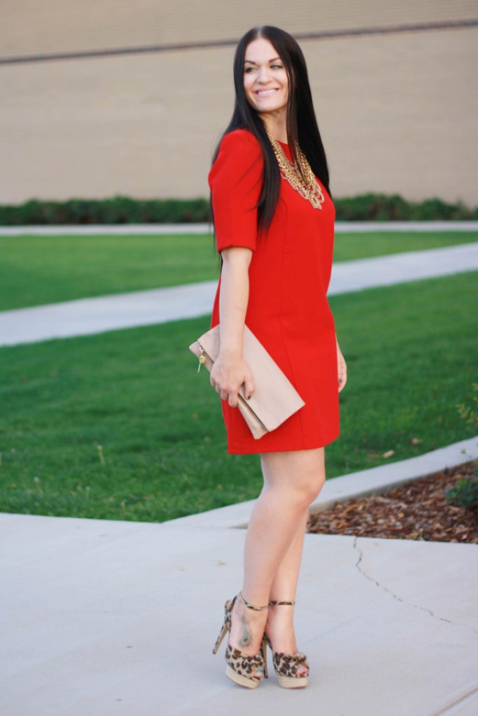 Little Red Dress Outfit