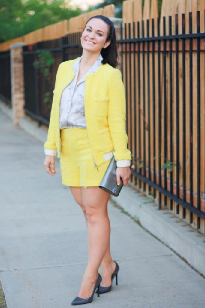 Zara Jacket and Short Set