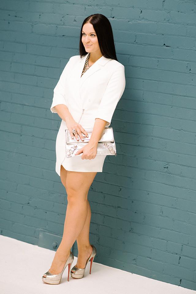 SheInside Blazer Dress