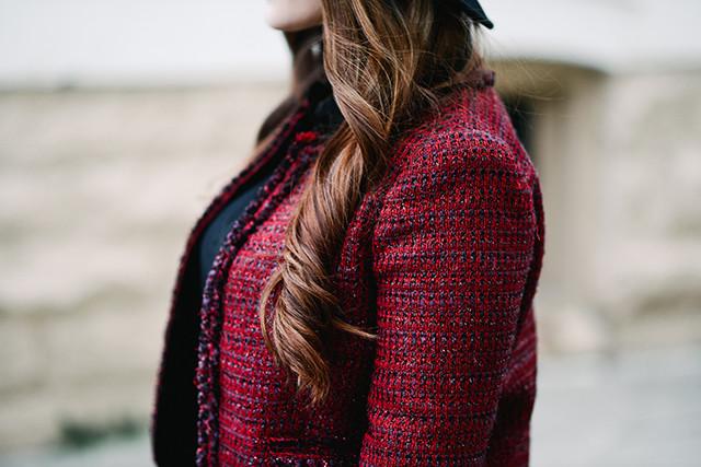 Alice + Olivia Tweed Jacket