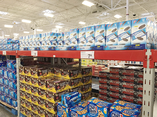 Oreo Thins at Sams Club