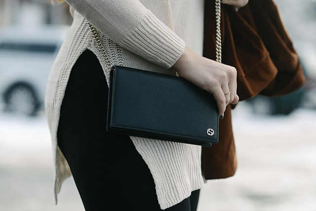 Black Gucci Betty Bag