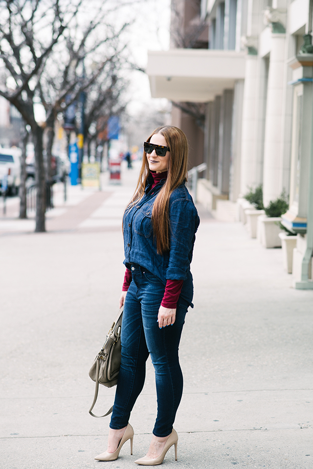 Canadian Tuxedo Outfit