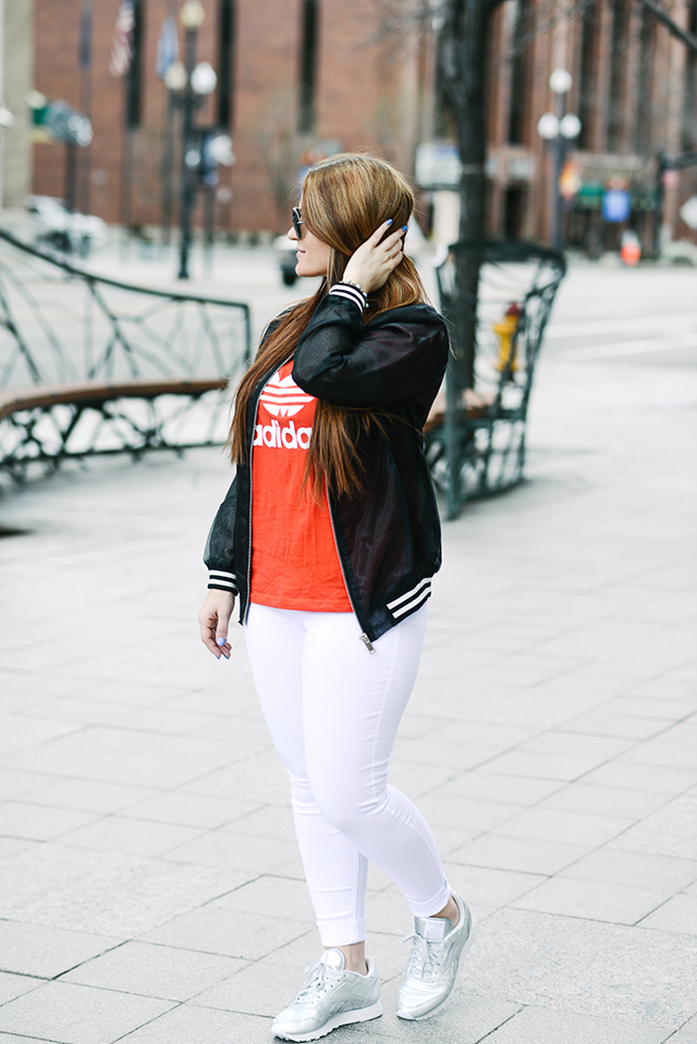 Adidas Tee Outfit