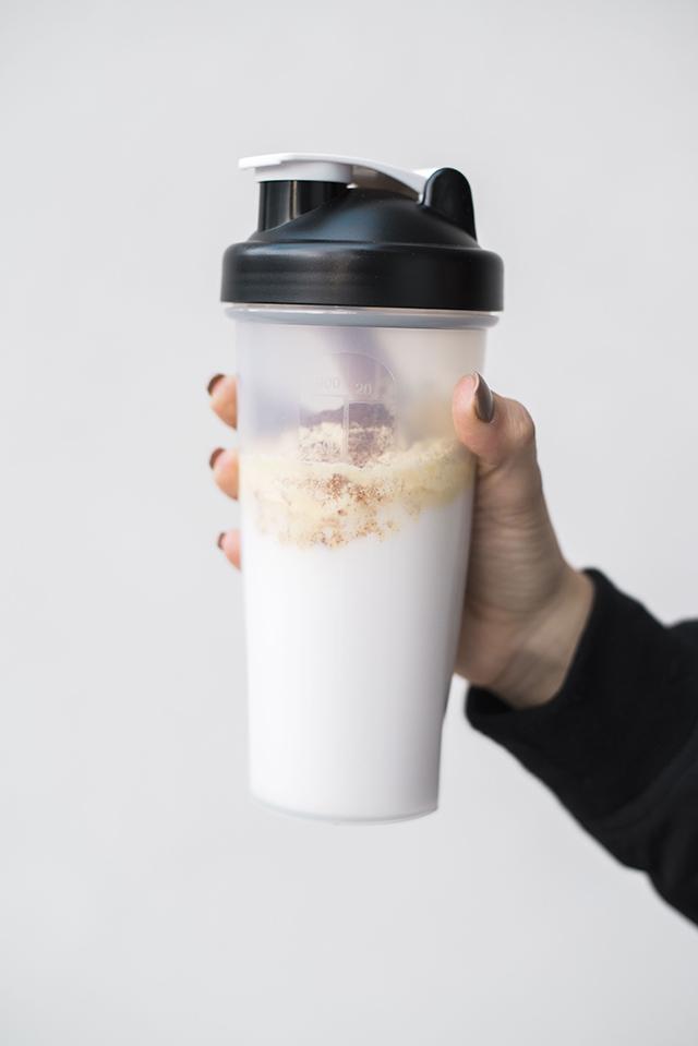 Horchata Protein Shake