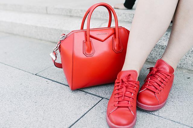 Red Givenchy Antigona Bag