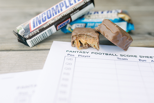 Snickers Fantasy Football