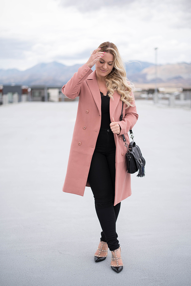 Forever 21 Button-Front Coat