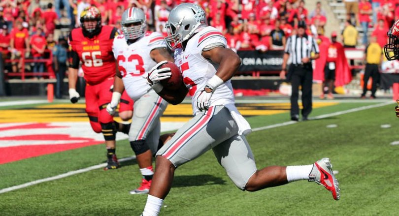 Image result for Ohio State Buckeyes vs. Maryland Terrapins