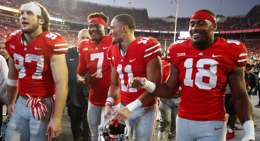 Ohio state depth chart  february projection of the buckeyes  two deep also rh elevenwarriors
