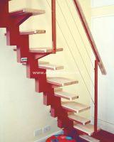 Alternated Treads Stairs Design, Space Saving Stairs