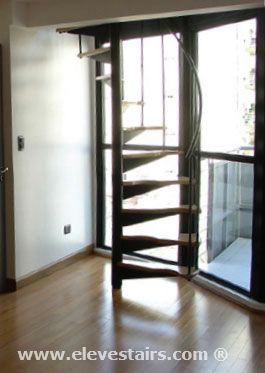 Half Spiral Stairs Space Saving Stairs Hillocks Garrets