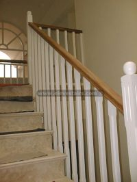 wood stair handrails - Video Search Engine at Search.com